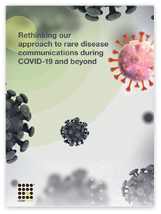 Rethinking rare disease communications during COVID-19