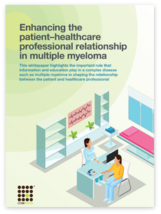 Enhancing the patient–HCP relationship in multiple myeloma